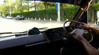 getlinkyoutube.com-Driving Toyota Hiace 1985