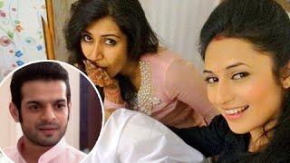 getlinkyoutube.com-Divyanka Tripathi CANNOT DANCE at Karan Patel's Sangeet Ceremony   Ye Hai Mohabbatein