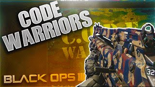 "getlinkyoutube.com-BO3 DLC CAMO ""CODE WARRIORS"" ON EVERY GUN! PERSONALIZATION PACK (CALL OF DUTY BLACK OPS 3 CAMO)"