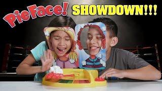 getlinkyoutube.com-PIE FACE SHOWDOWN!!! Whipped Cream CHALLENGE!