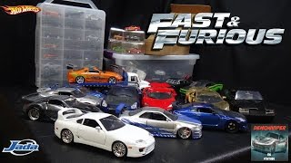 getlinkyoutube.com-Fast & Furious Car Collection - Hot Wheels, Jada Toys, Racing Champions, Greenlight