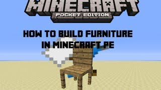 getlinkyoutube.com-How to build Furniture in Minecraft Pe