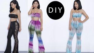 DIY Flared Pants (easy)