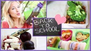 getlinkyoutube.com-Gesunde & Leckere Essensideen für Schule/ Uni I Back To School
