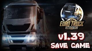 getlinkyoutube.com-Complete Savegame v1.22 Download - Euro Truck Simulator 2 HD
