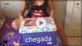 getlinkyoutube.com-Chegada da Minha Bebê REBORN - Giulia Pessoa