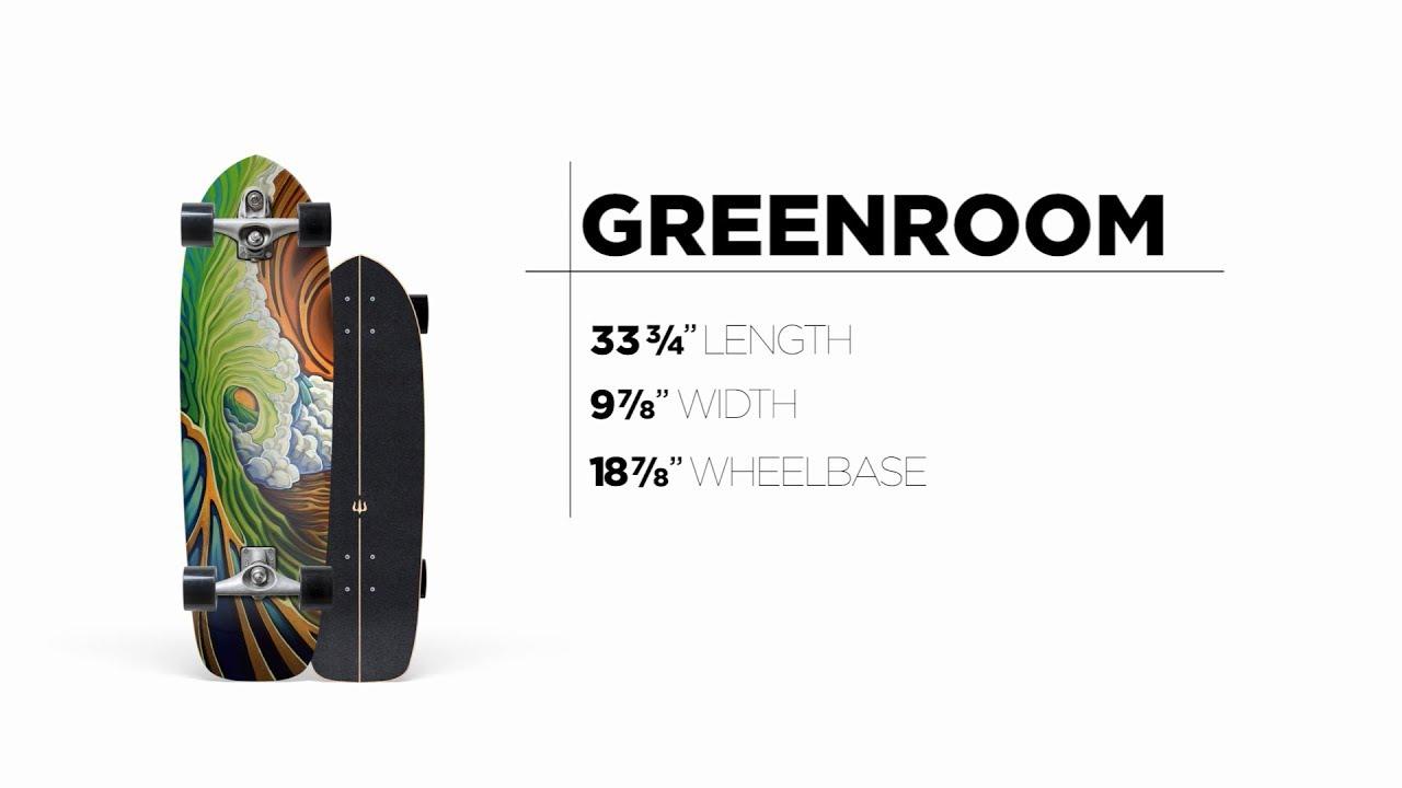 33.75″ Greenroom