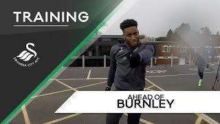 Swans TV - Training ahead of Burnley (Home)