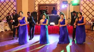 getlinkyoutube.com-Surprise dance @ Heshan + Amali's wedding