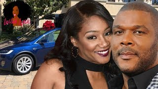 Tyler Perry Buys Tiffany Haddish A Tesla! Is He Trolling Mo'Nique? width=