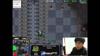 getlinkyoutube.com-2014.12.08 테란(Terran) 눈치 100단의 운영!Fastest Maps in StarCraft Brood War(3:3TeamPlay)