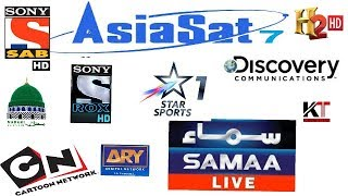ASIASAT 7 105 EAST 4 FEET DISH SETTING AND CHANNEL LIST