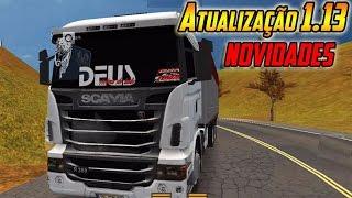 getlinkyoutube.com-Atualizaçao do Grand Truck Simulator  Novidades sobre o MAPA + Adesivos No Parabrisa