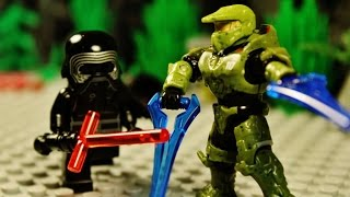 "getlinkyoutube.com-Lego Halo vs Star Wars 16 ""The Finale"""