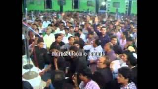 getlinkyoutube.com-Allama Zameer Akhtar Naqvi in Hyderabad Deccan India (Majlis-1)