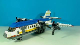 getlinkyoutube.com-LEGO FERRY HOVERCRAFT PLANE 4997