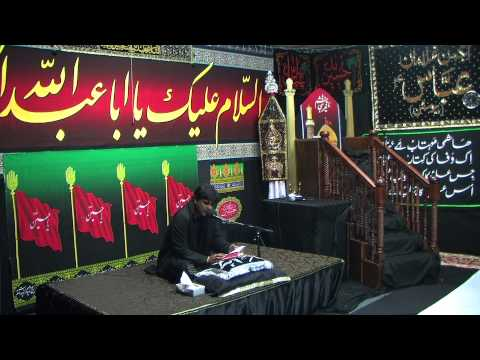 Dar e Abbas Houston 9th Muharram Tussadaq Hussain 11 13 2013 Part 1