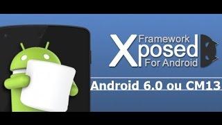 getlinkyoutube.com-Como instalar xposed no android 6.1 ou Cm13 - 2017