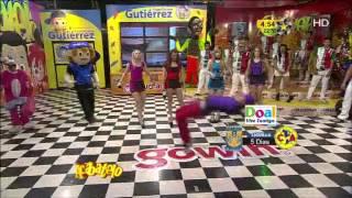 getlinkyoutube.com-Brandon Meza se levanta y sigue bailando