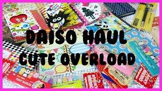 getlinkyoutube.com-HUGE DAISO HAUL ||  CUTE OVERLAOD || CANDYSOLEDAD MIX