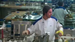 getlinkyoutube.com-Dave Rocks in the Blue Kitchen | Hell's Kitchen S06E09 [HD]