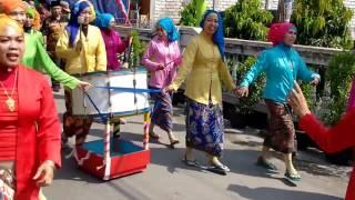 Penyambutan Tim Juri Gresik Berhias 2016 Desa Bedanten