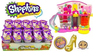getlinkyoutube.com-10 Shopkins Fashion Spree Surprise Blind Bags Box Unboxing Cookieswirlc Video