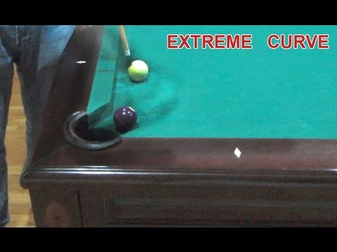 Billiard Masse Shot & Curve Shot