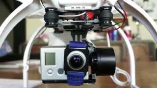 getlinkyoutube.com-Ebay / goodluckbuy / banggood gimbal instalation on a DJI Phantom for Tilt Control