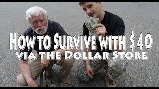 getlinkyoutube.com-How to Survive with $40 via Dollar Store