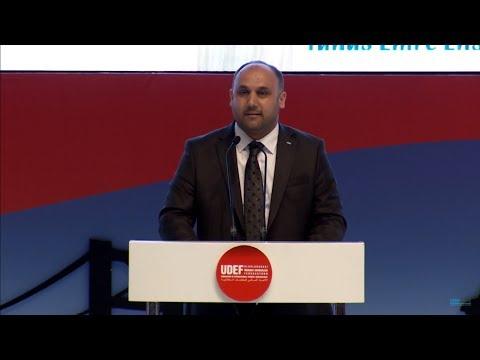 UDEF Başkanı Sn. Mehmet Ali Bolat Konuşması - 10.Uluslararası Öğrenci Buluşması Finali