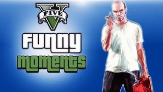 GTA 5 Funny Moments Ep. 7 (Getting Knocked Out, Snowman, Zombies, Best Life Guard Ever)