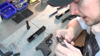 UNBOXING NEW Shield 9mm and M&P9 first LOOK and lube