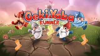 Geki Yaba Runner per iPhone iPad e Android- AVRMagazine.com
