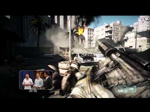 Battlefield 3 - PS3 Gameplay Late Night with Jimmy Fallon