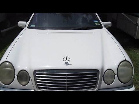 How to Change Oil Mercedes E Class Gas Engine 3.2L