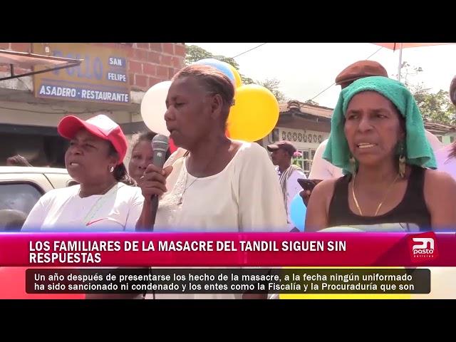 Los familiares de la masacre de Tandil sigue sin respuesta