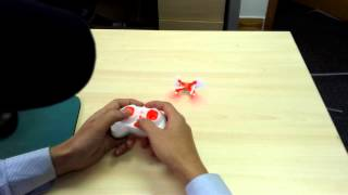 How to initialize the balance of CX-10 RC Quadcopter