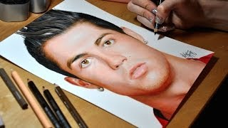getlinkyoutube.com-Drawing Cristiano Ronaldo