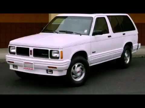 1994 oldsmobile bravada problems