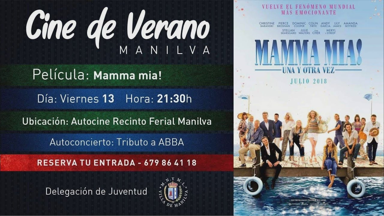 'Mamma Mía, una y otra vez', nuevo film para el autocine