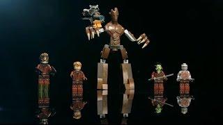 getlinkyoutube.com-Guardians of the Galaxy: Minifigure - LEGO MARVEL Super Heroes - Designer Video