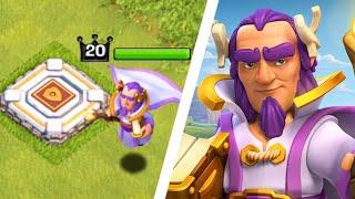 "getlinkyoutube.com-NEW HERO!! ""Grand Warden"" - Clash of Clans - NEW Hero Update (CoC New Hero Gameplay)"