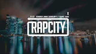 Kendrick Lamar - X (ft. ScHoolboy Q, 2 Chainz & Saudi) [Lyrics]