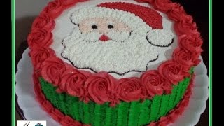 getlinkyoutube.com-Bolo Papai Noel #natal