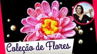 getlinkyoutube.com-COLEÇÃO DE FLORES EM CROCHE BY EDINIR-CROCHE 1