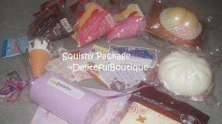 getlinkyoutube.com-Squishy Package Opening ~Deliteful Boutique~