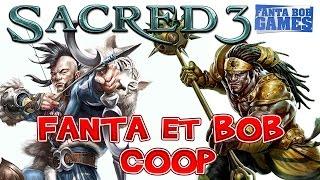 getlinkyoutube.com-Fanta et Bob dans Sacred 3 - Gameplay Coop