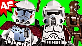 getlinkyoutube.com-ELITE CLONE Troopers & Commando Droid Battle Pack - Lego Star Wars Set 9488 Animated Review