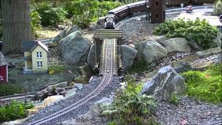 getlinkyoutube.com-2014 Pennsylvania Garden Railway Tour Manheim PA